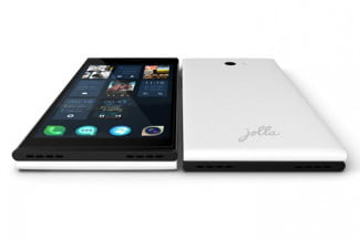 Jolla White Phone