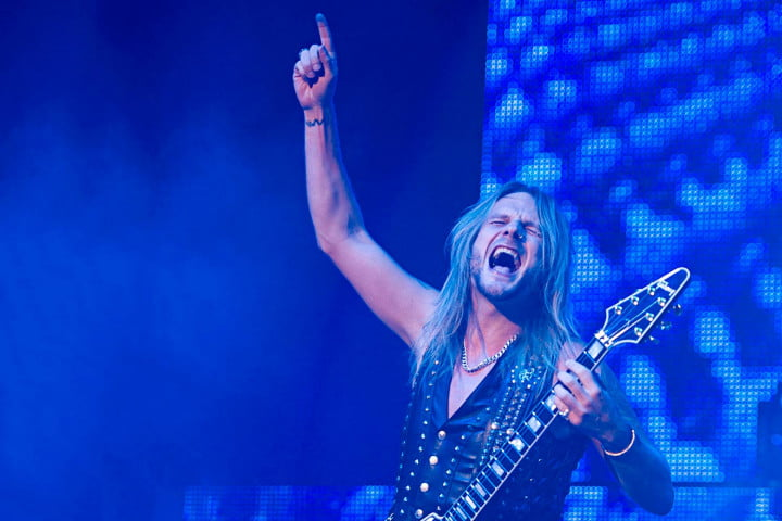 exclusive judas priest electric eye video premiere jp richie