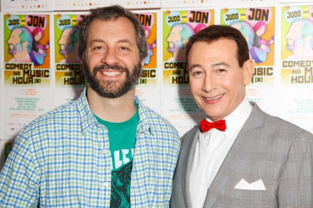 pee wees big holiday begins filming in march netflix judd apatow wee herman