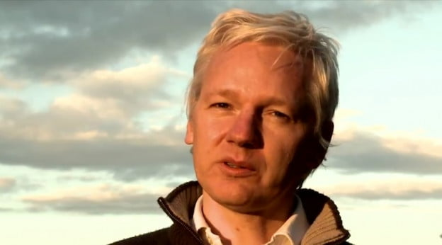 Julian Assange, October 2011