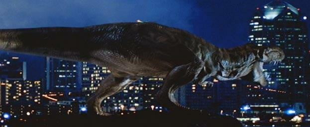Jurassic Park The Lost World - T-Rex in the big city