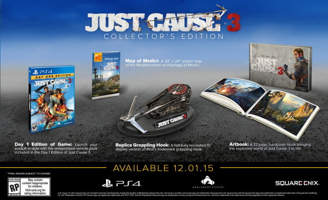 just cause  collectors edition