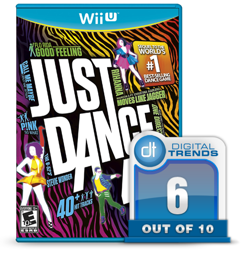 Just Dance 4 Wii U score graphic
