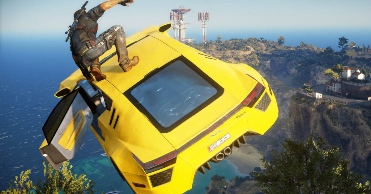 Just Cause  Flying Car Mod