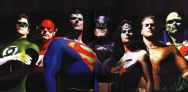 Justice League -- Alex Ross