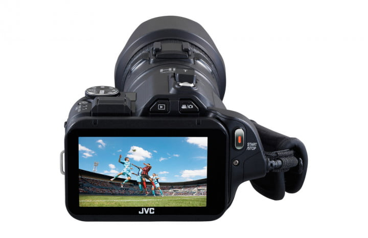 jvc announces procision gc px  camera