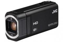 jvc hd everio gz vx  bu review press image