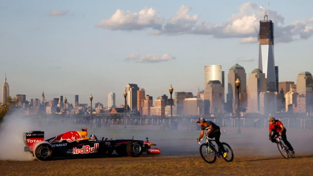 Red Bull F1 in New Jersey