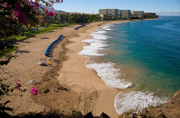 Kaanapali beach hawaii shutterstock