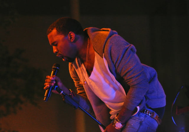 kanye west accidentally reveals himself searching the pirate bay