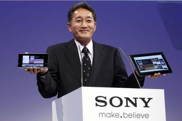 sony ceo says tv division sale yet kazuro hirai