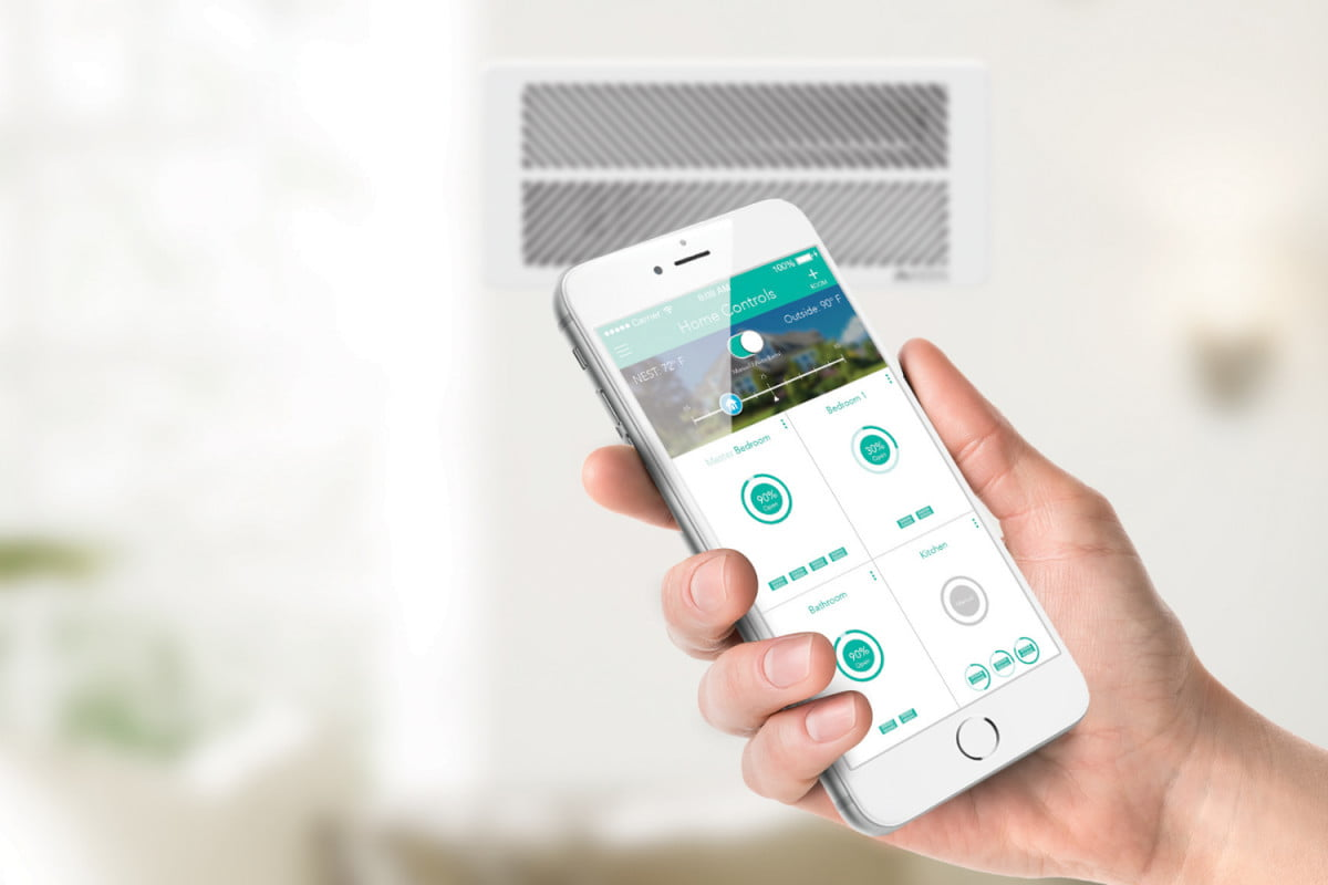 keen homes smart vents go on sale starting black friday home vent iphone