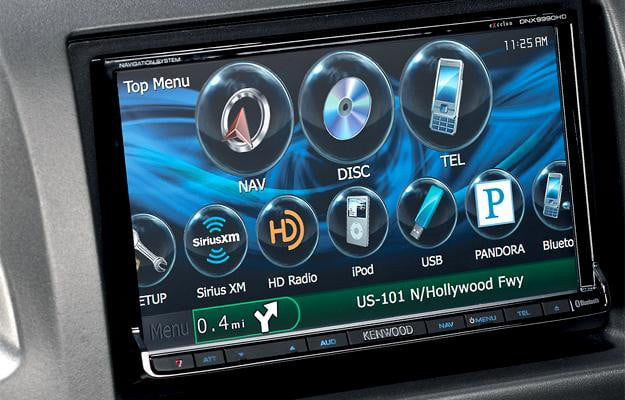 Kenwood DNX9990HD in car carputer audio navigation system