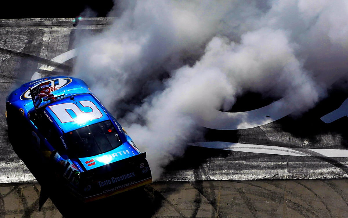 nascar champ credits video games for his recent win keselowski