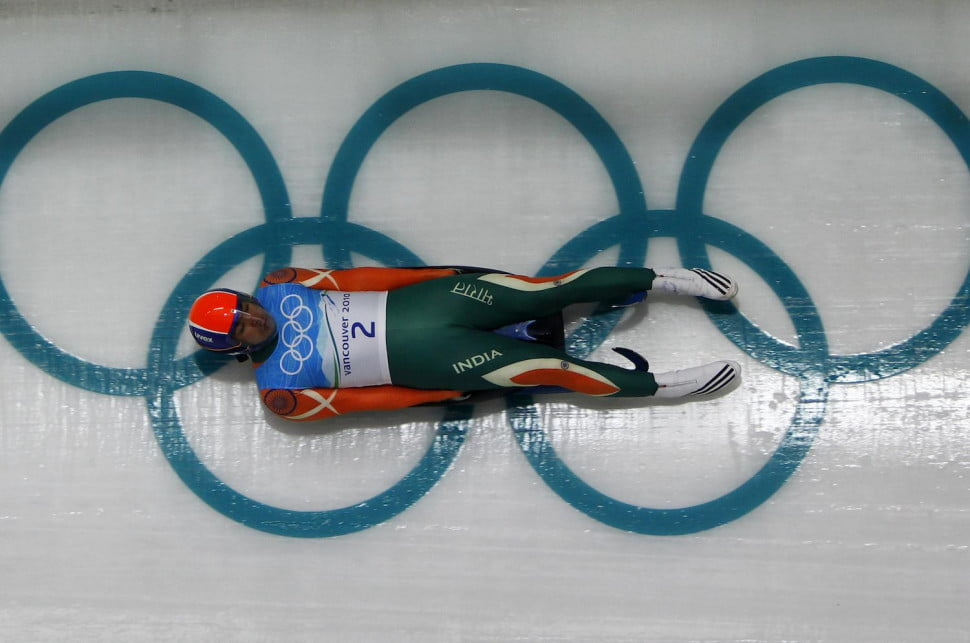 Luge rider Shiva Keshavan, one of three Olympians funded with Dogecoin