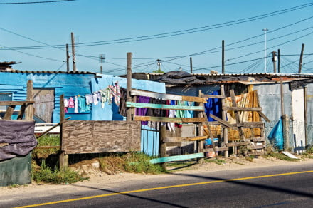 Khayelitsha Cape Town Township South Africa Shacks