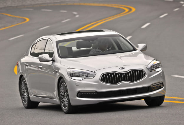 Kia names K9 luxury sedan Quoris outside Korean market