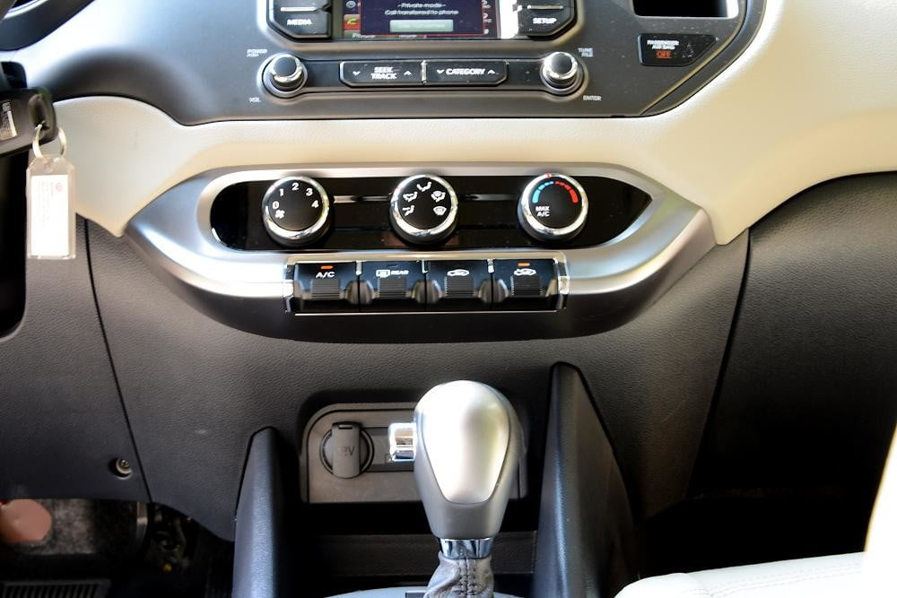 Kia Rio review interior gearstick 2012 compact review