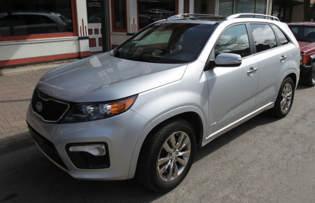 2011 Kia Sorento SX AWD Front Right Side