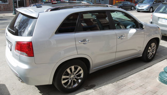 2011 Kia Sorento SX AWD Side