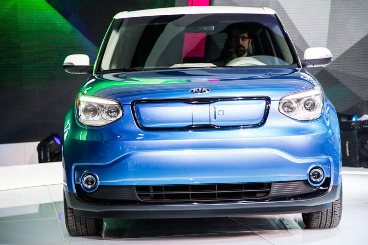 kia soul ev perfect car robot hamster