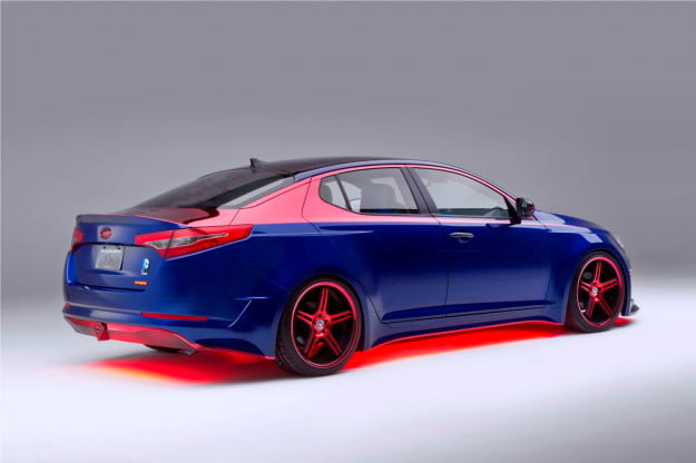 Kia Optima Hybrid Superman