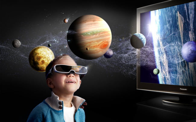 Kid active 3d glasses