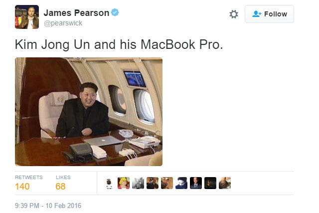 kim jong un might be the only apple fan boy in north korea kimmy