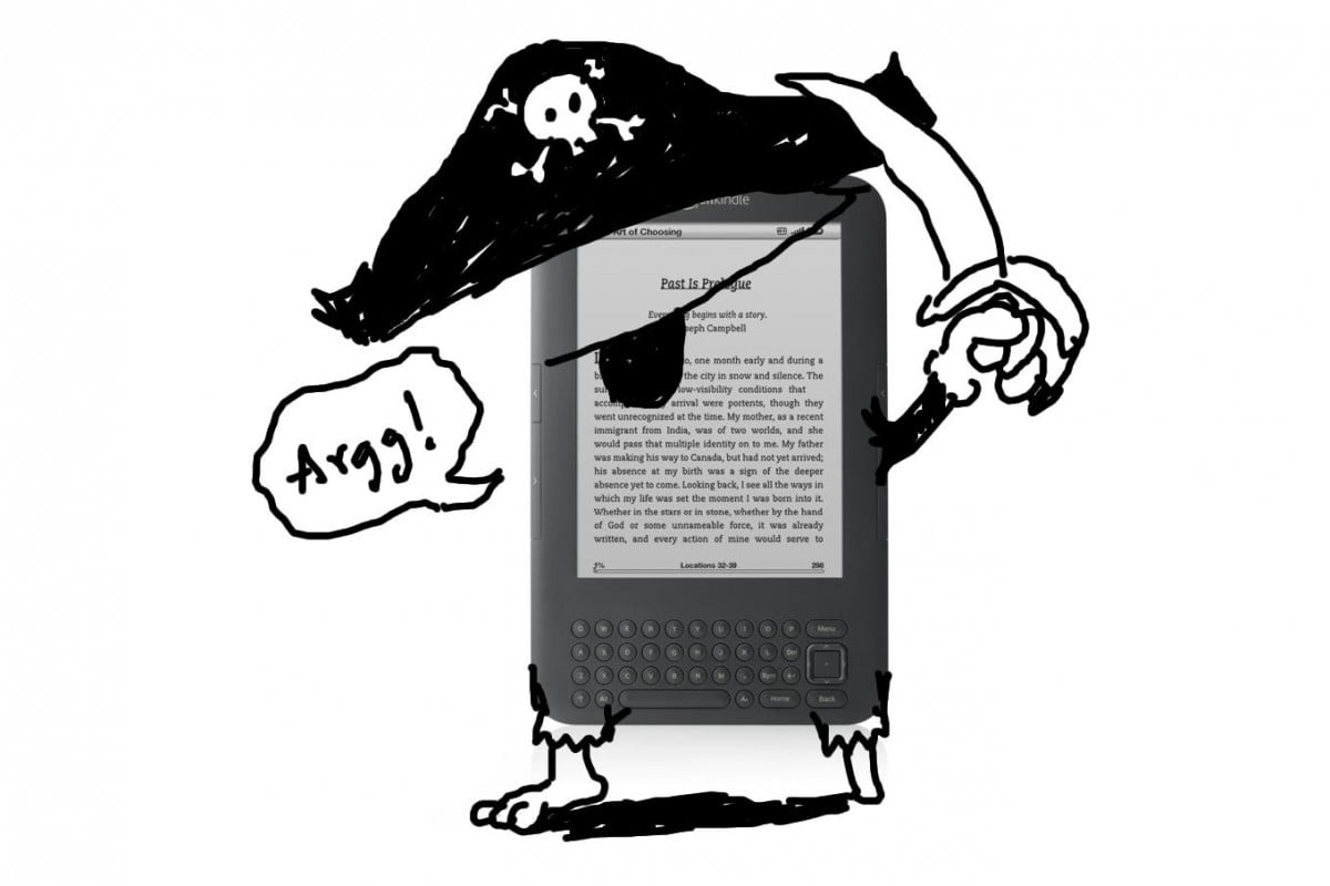 ebook piracy safer than purchase kindle pirate