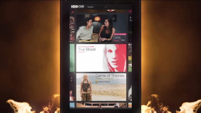 Kindle Fire HBO GO