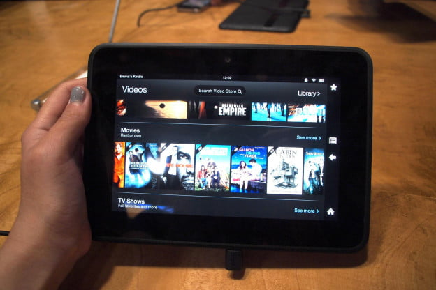 Kindle Fire HD hands-on