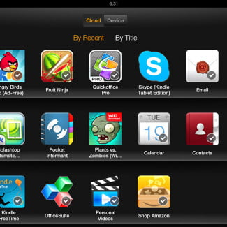 kindle fire hd 8.9 screenshot cloud apps