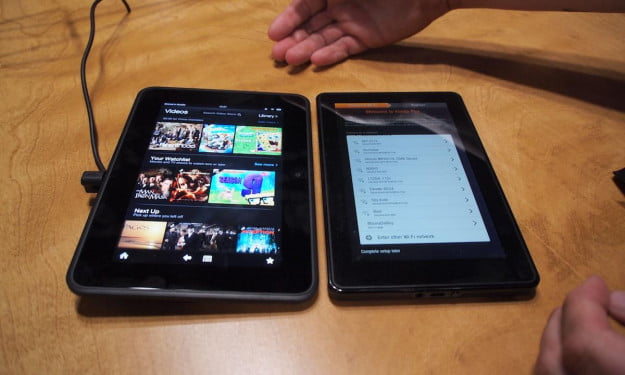 Kindle Fire HD v Kindle Fire