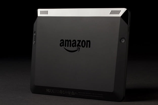 Kindle Fire HDX back angle