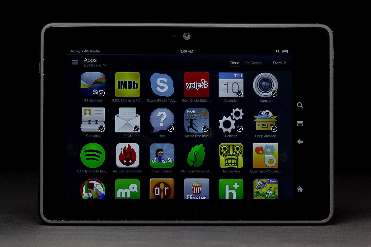 Kindle Fire HD Camera Apps, Specs, Resolution and other Features -