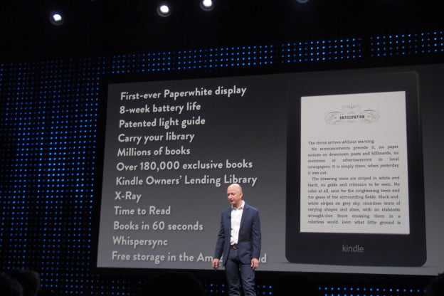 kindle paperwhite specs