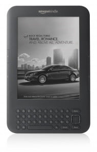 Kindle with Special Offers - Buick