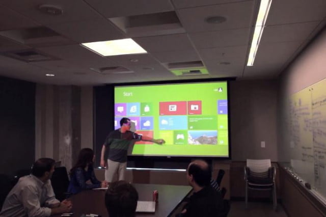 new kinect app turns any surface into a touchscreen