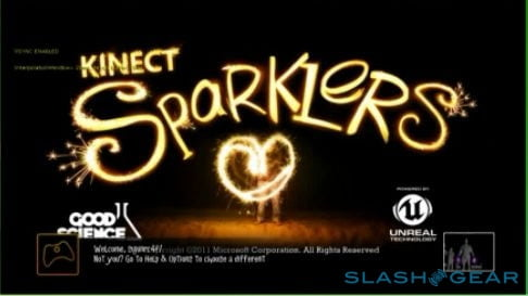 kinect fun labs leak sg  sparklers