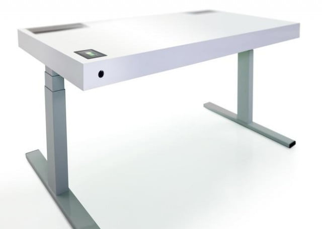 stirs kinetic desk learns your sitting habits nags you into standing up for health