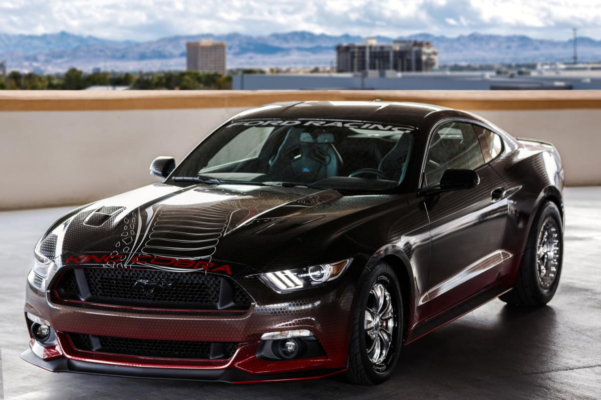 ford mustang king cobra unveiled at sema