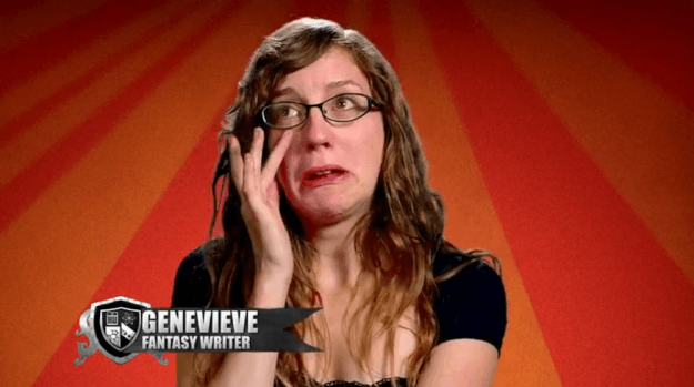 king of the nerds genevieve cries