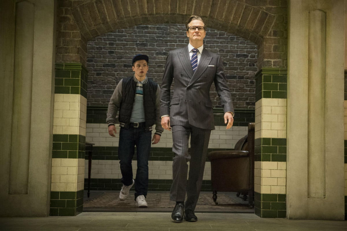 first trailer kingsman secret service gives world new super spy the