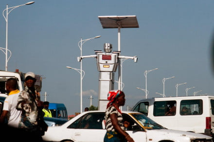 Kinshasa Traffic Robot