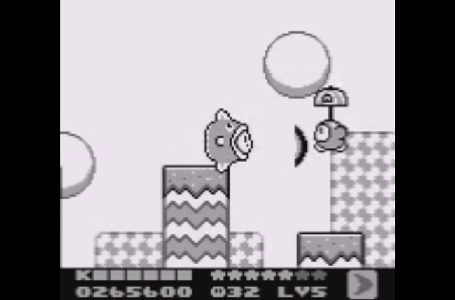 best game boy games kirby  screen