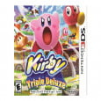 kirby triple deluxe review cover art