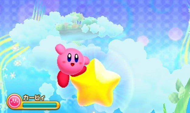 Kirby Triple Deluxe screenshot 3