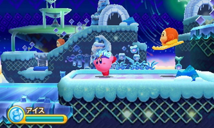 kirby triple deluxe review screenshot
