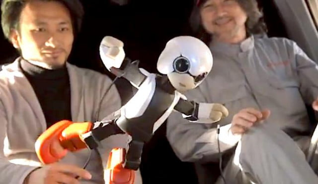 kirobo worlds first talking robot astronaut heads for iss