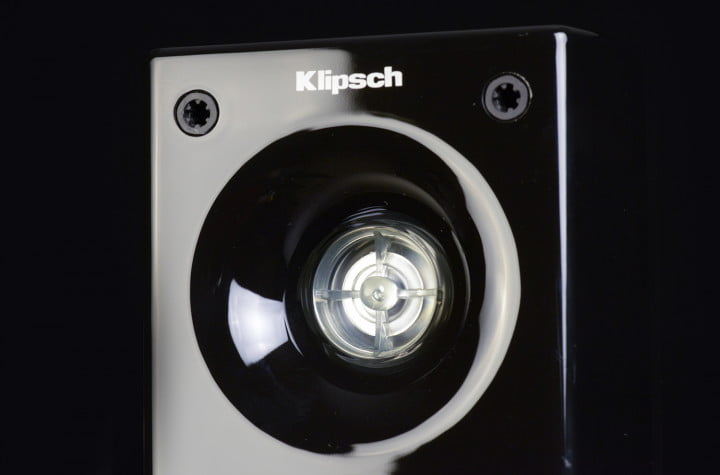 klipsch hd theater  review satellite speaker driver macro